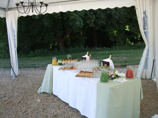 Buffet du cocktail